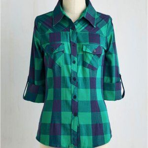 Thread & Supply Simply Scout Top in Jade